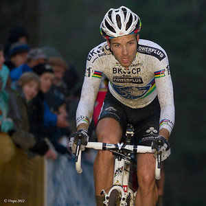 Niels Albert wereldbekercross Zolder 2012