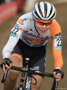 Thalita de Jong wereldbeker Zolder.