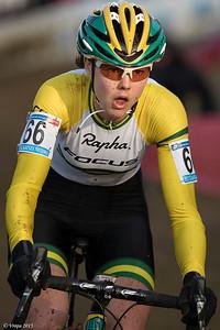 Lisa Jacobs wereldbeker Zolder.
