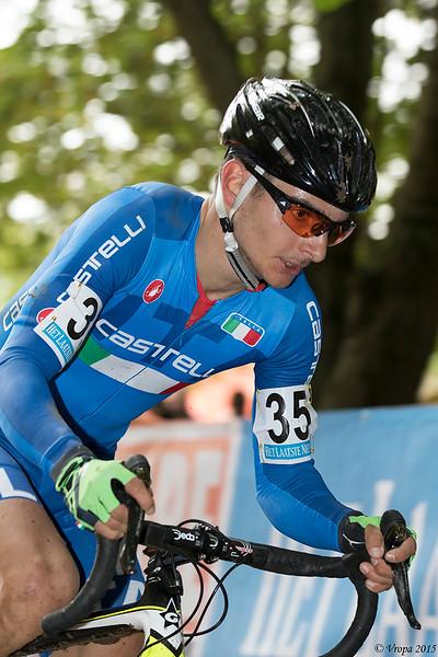 Gisele Bertolini, winnaar in Valkenburg.