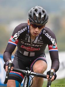 Lars van der Haar, winnaar in Valkenburg.