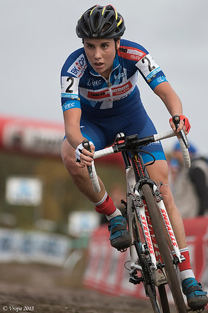 Sanne Cant winnares in Zonhoven.
