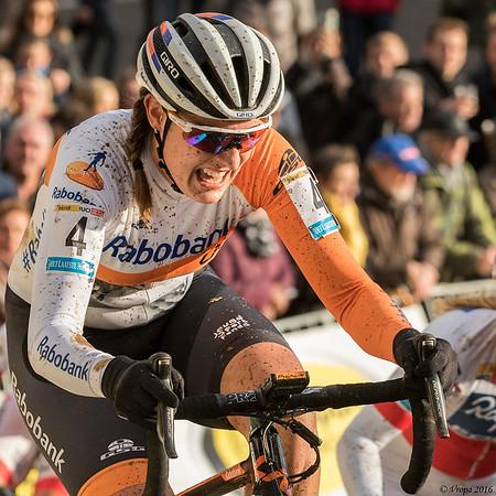 Lucinda Brand wereldbeker Zolder.