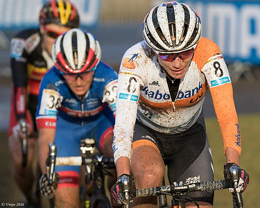 Marianne Vos winnares wereldbeker Zolder.