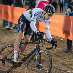 Wout Van Aert, winnaar wereldbeker Zolder.