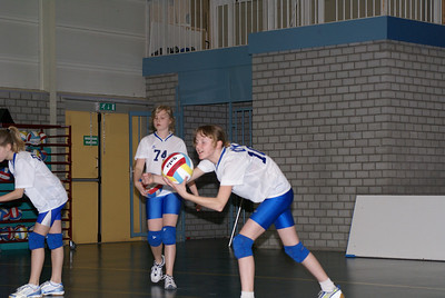 Volleybal 5 april 2008