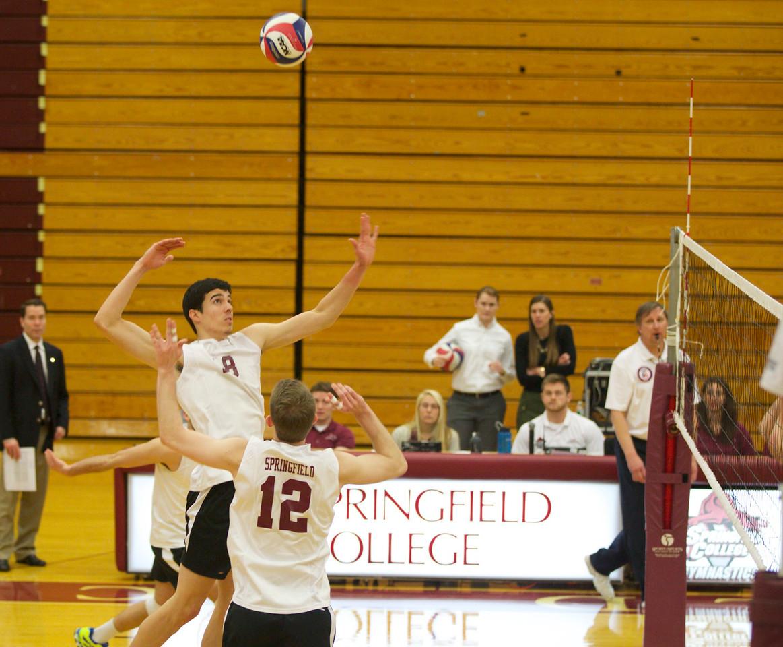 Volleyball 2015, Springfield College v Elmira
