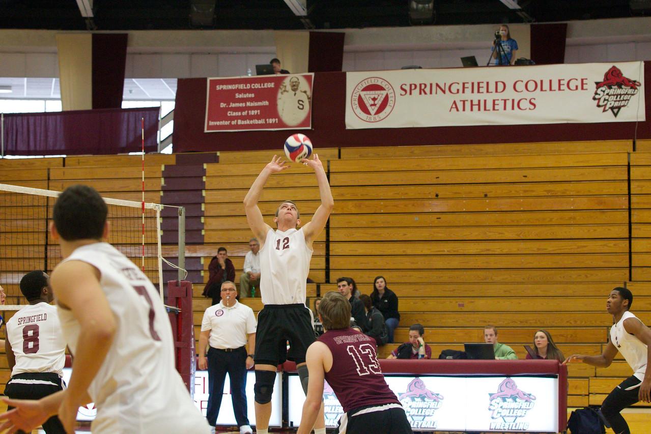 Volleyball 2015, Springfield College v Dominican (IL)