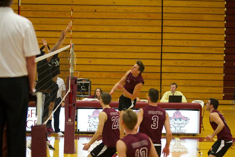 Volleyball 2015, Springfield College v Newbury