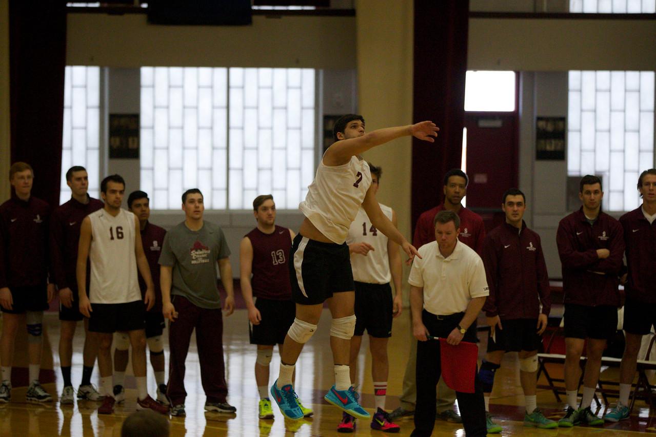 Volleyball 2015, Springfield College v New Paltz