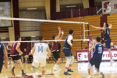 Springfield men's volleyball v. Lasell