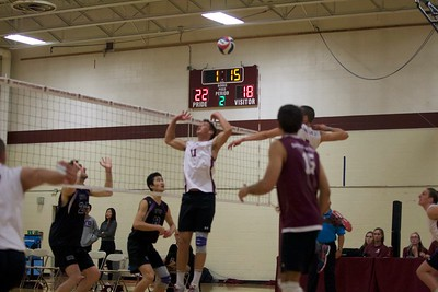 Springfield men's volleyball v. NYU