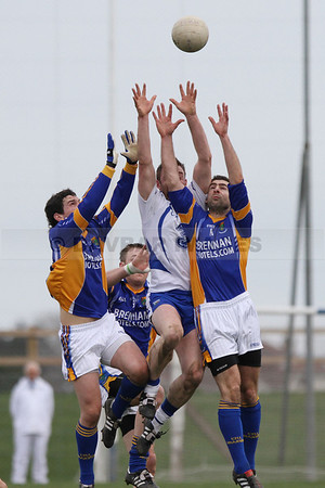 High fielding in the Waterford v Wicklow National Football League match (March 2010)