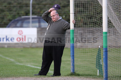 Mick Mills is left scratching his head as Blessington waste another chance (October 2009)