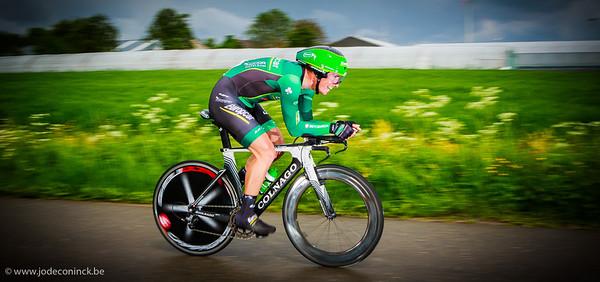 Ronde van België, tijdrit Beveren. Sébastien Chavanel