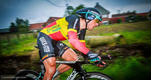 Ronde van België, tijdrit Beveren. Kristof Vandewalle