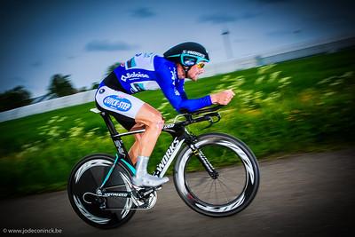 Ronde van België, tijdrit Beveren. Tom Boonen
