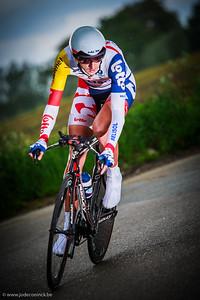 Ronde van België, tijdrit Beveren. Jelle Vanendert