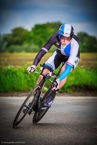 Ronde van België, tijdrit Beveren. Lars Boom