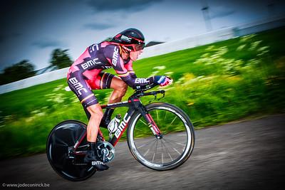 Ronde van België, tijdrit Beveren. Phlippe  Gilbert