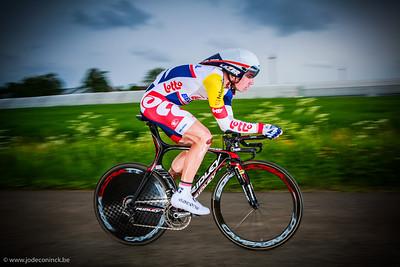 Ronde van België, tijdrit Beveren. Jurgen Roelandts