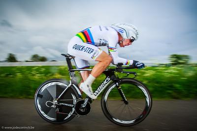 Ronde van België, tijdrit Beveren. tony Martin