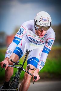 Ronde van België, tijdrit Beveren. Roy Curvers