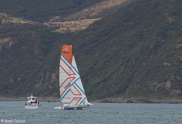 Global Ocean Race 2011-2012 - Departure from Wellington, 29 January 2012