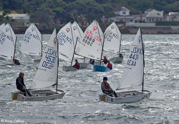 NZIODA Optimist National Championship, Worser Bay Boating Club, 6 April 2015