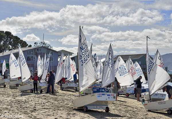 NZIODA Optimist National Championship, Worser Bay Boating Club, 3 April 2015