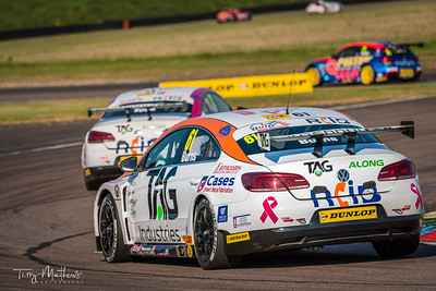 BTCC Will Burns Thruxton 2017