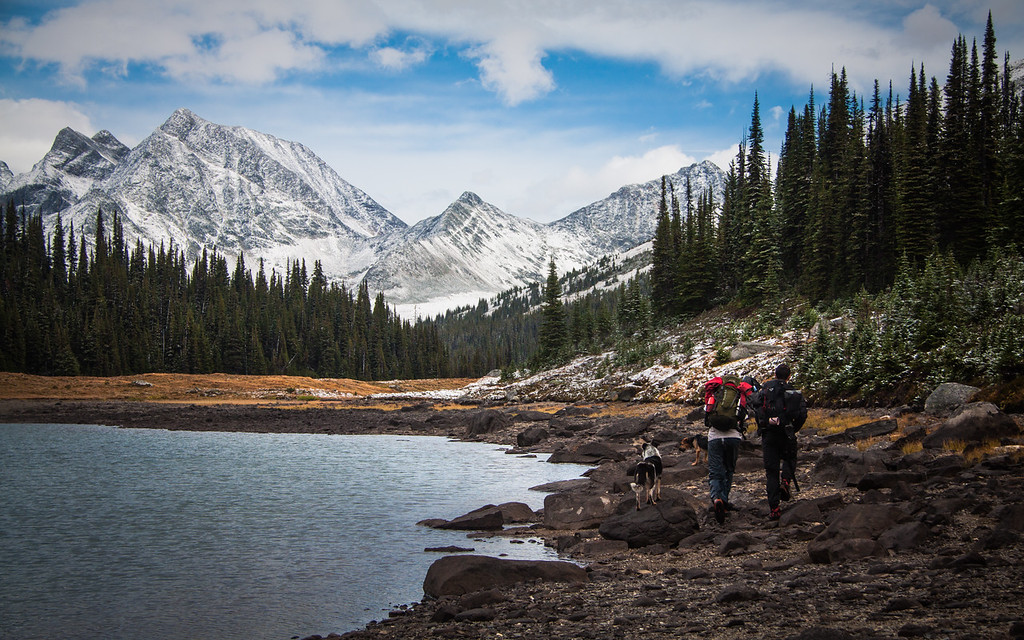 Hiking Through the Headwaters of the Fraser River