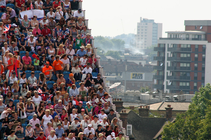 Crowd, Individual Dressage, London Olympics - 2012