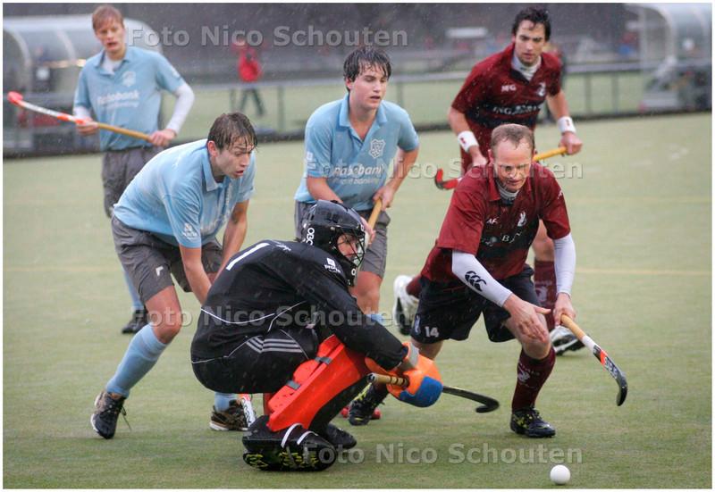 AD/HC - HOCKEY  HCKZ tegen AMERSFOORT - DEN HAAG 2 DECEMBER 2007 - FOTO NICO SCHOUTEN