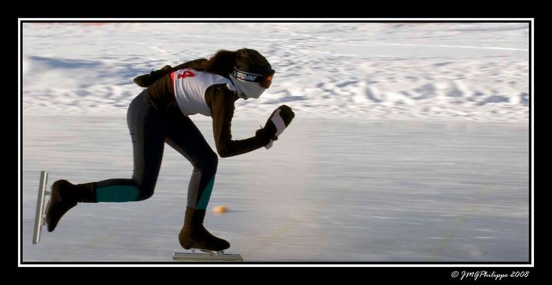Speed skater III sample