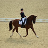A. Cornelissen (Dutch) riding Parzival, Individual Dressage, London Olympics - 2012