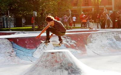 Skater contest, parco Lambro, Milano