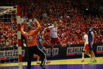 Denmark France, match men's EHF EURO 2014, Århus, Denmark