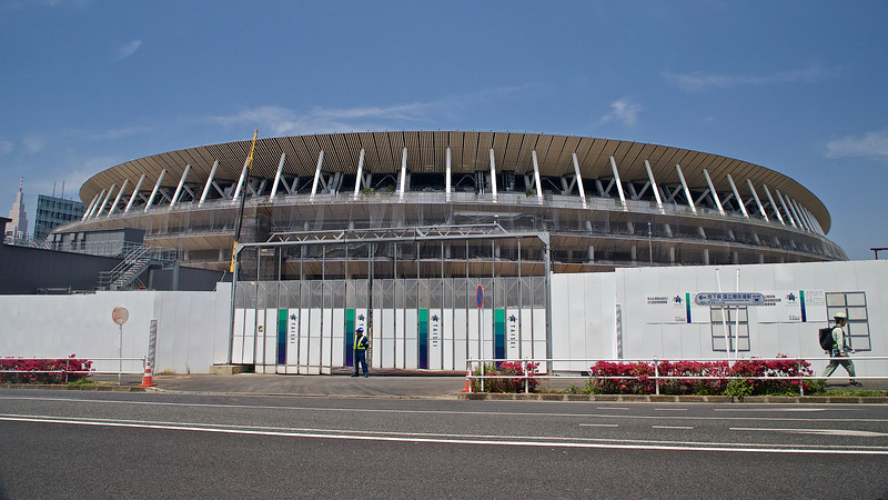 Olympic Stadion for 202 0, Tokyo Japan.<br /> Built in same place as the Olympic Stadion 1964