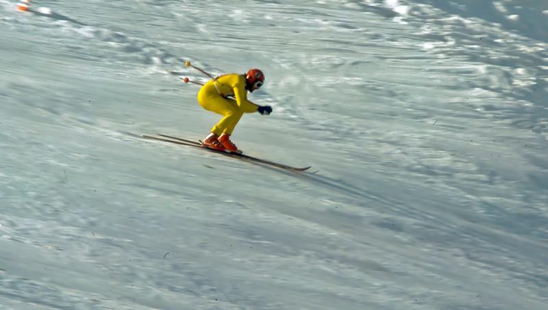 Down Hill race Kitzbuhel 1976 - Fanz Klammer