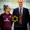 SGP,The Duke of Cambridge, President of the Football Association visit to St George's Park to meet the  England Women team before they leave for Canada on 25th May.