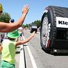 Tour de France Caravan, Crest, Tour de France - July 2015