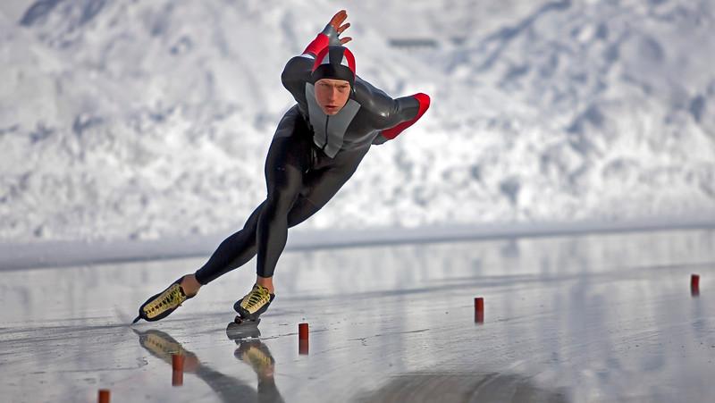 Johan Röjler Sweden, Speed skating competitor, Östermalms IP Stockholm