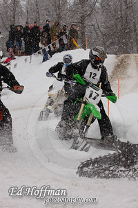 Snow Bike Racing McCall,Idaho.2013. McCall Winter Carnival.