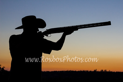 Del Oro Trap Shooter Clay Thomas