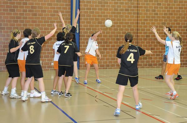 Korbball: TV Buchthalen - STV Hallau