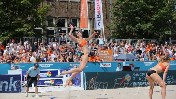 18 juli 2018 EK Beachvolleybal 2018 Utrecht