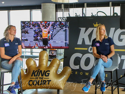 29-06-2020: Volleybal: Presentatie King of the Court 2020: Utrecht