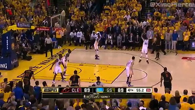Kyrie's 3 pointer against Curry
