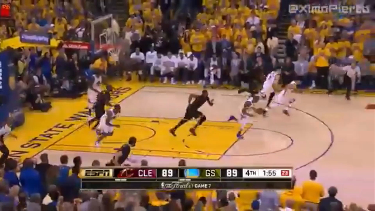 VIDEO:  2 1/2 minutes -- Game 7 - How it ended.  Click on above image and then on triangle and video will play.
